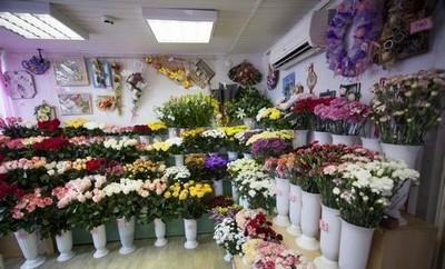 Начало торговли цветами