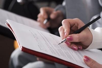 Написание заявления, чтобы получить сведения