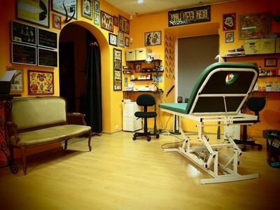 Регистрация салона, где делают татуировки