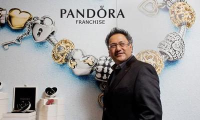 "Франшиза от мирового бренда ""Пандора"""