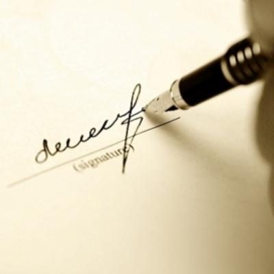 Доверенность, дающая право другому лицу подписывать документ