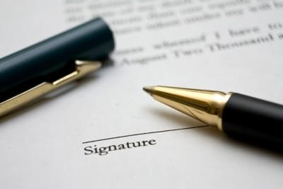 Документ на право подписи