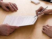 Заявление, чтобы осуществить увольнение по желанию работника