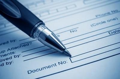 Документ, отправленный на подпись руководителю
