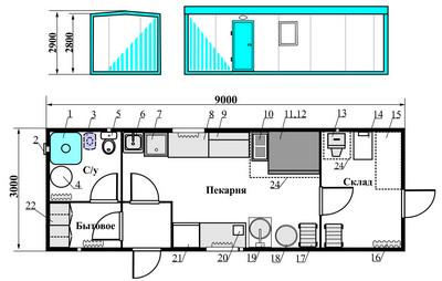 План-схема помещения