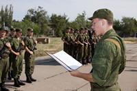 Армия и увольнение в связи с призывом в нее