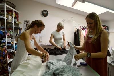 Пошив свадебных платий в ателье