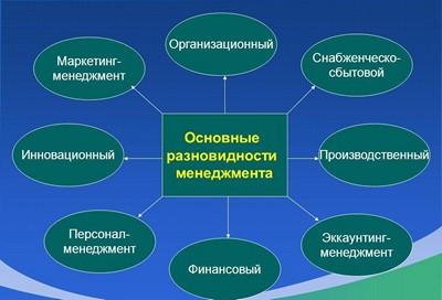 Главные разновидности менеджмента