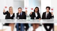 Оценка того, с кем проводится собеседование