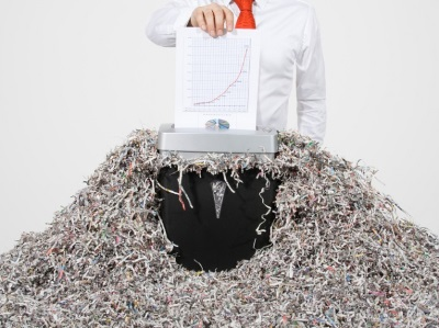 Причины уничтожения бумаг