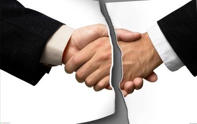 Расторжение контракта безвозмездного предоставления работ