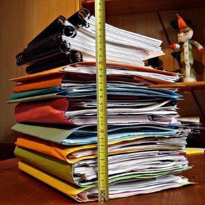 Составление акта списания архивных документов