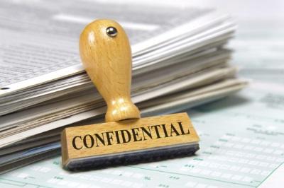 Признаки конфиденциальной информации