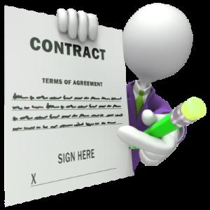 Условия договора оказания услуг