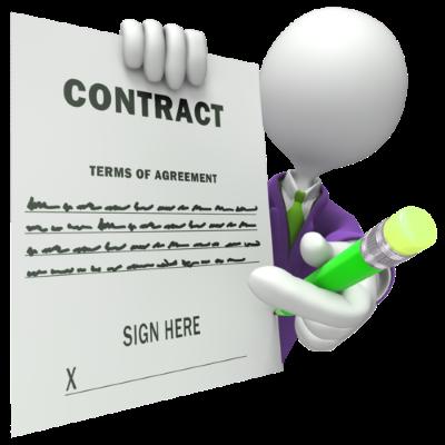 Условия договора оказания услуг и последствия их невыполнения