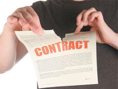 Основные причины расторжения рекламного договора