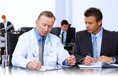 Комиссия состоит из разных врачей