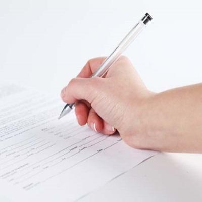 Правильный порядок заполнения заявления