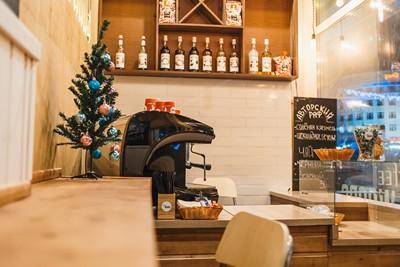 Дизайн внутри кафе