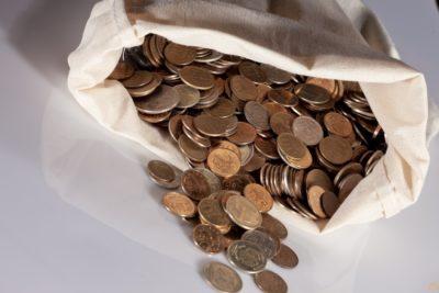 Сдача денег в банк из кассы